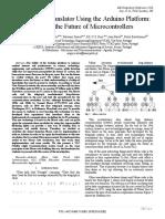 Paper 199-Morse Code Translator Using the Arduino Platform