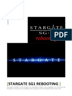 Stargate SG1 Rebooting