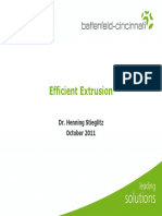 Efficient Extrusion - Sustainable Solutions for Lower Energy Consumption