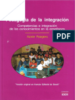 Pedagogia de La Integracion (Xavier Roegiers)