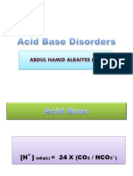Acid Base Disorders1