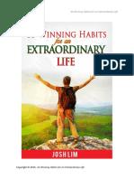 35 Winning Habit
