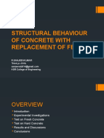 Structural Behaviour of Concrete With Replacement of Fevicol