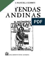 Leyendas Andinas_juana Manuela Gorriti