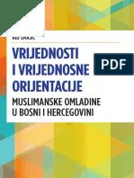 VRIJEDNOST I VRIJEDNOSNE ORIJENTACIJE MUSLIMANSKE OMLADINE U BiH   -   Aid Smajić