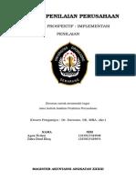 Analisis Prospektif Implementasi Penilaian Fix
