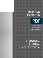 interviul psihihiatric