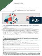 Case Study on Succesful Implementation of Digital Marketing - Firstcry - Digital Vidya
