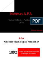 Normas APA 6a Edición