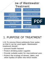 Overview of Wastewater Treatment