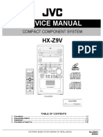 JVC HX-Z9 Manual de Servicio