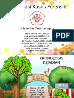 Presentasi Kasus Forensik UNTAR NEW