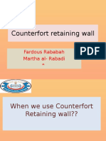 CounterFort Ret Wall fardous rababah