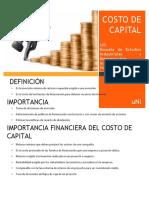 Costo de Capital (1)