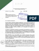 Of 020-2016/DP dirigido al Juez del Quinto Juzgado Constitucional por el caso del señor Carlos Ruiz Huallaccahua