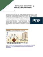 Origen de La Crisis Económica y Alimentaria en Venezuela