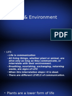Life and Environment