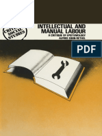 Alfred Sohn-Rethel -Intellectual and Manual Labour - a Critique of Epistemology-Macmillan Education UK (1978)