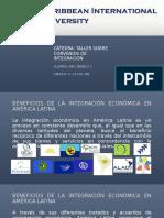 Beneficios de La Integracion en America Latina