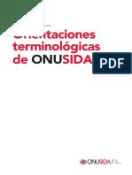 Orientaciones Terminologicas - OnUSIDA Pagina 5