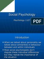 Social Psych