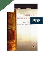 Caldwell Ian & Dustin Thomason - Misterul manuscrisului (v3.0).doc