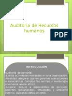 Auditora de recursos humans