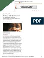 Racismo Virtual_ Sem Medo de Buscar a Defesa - Jornal Do Commercio