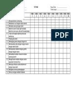 Kateter - Checklist
