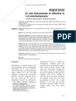 10. Original article Treatment of onycomycosis with itraconazole pulse therapy.pdf