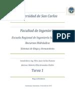 1.Tarea Riego en Honduras