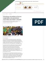 Panelaços Brasileiros Foram Inspirados Em Protestos Ocorridos Em Todo o Mundo - Jornal Do Commercio