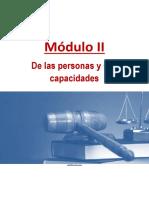 Derecho Civil I (Personas) Módulo II (corregido)