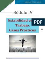 Derecho Laboral Módulo IV