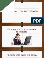 Perfil de Una Secretaria