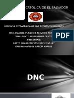 DNC y Assessment Center