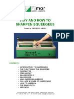 Why How Sharpen Squeegees