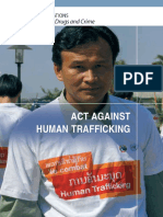 Act Against Human Trafficking