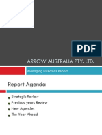 Managing Director's Report