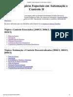 ELE00071-Tópicos Especiais Em Automação e Controle II