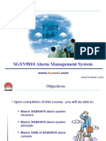 6-SGSN9810 Alarm Management System