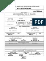 Coacyt - 2014 - Caratulas de Documentacion - Los Hongos Del Patio de Mi Jardiin