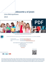 IGM Perfil Del Adolescente y Joven 2014