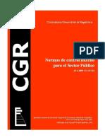 Normas Control Interno Sector Publico