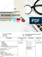 Morning Report DHF