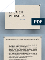 Etica en Pediatria