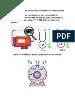 Como Se Conecta de Un Motor Monofásico de Fase Partida de Doble Voltaje