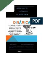 Aplicaciones de Dinamica en La Vida Diaria