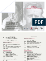 Malraux Inha Programme