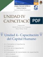 Unidad 4- Capacitación Del Capital Humano